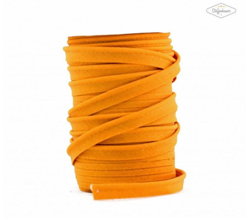 Paspelband licht oranje