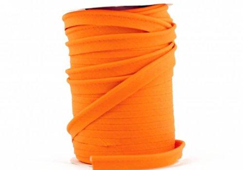 De Stoffenkamer Paspelband mandarijnoranje