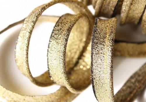 De Stoffenkamer Paspelband goud