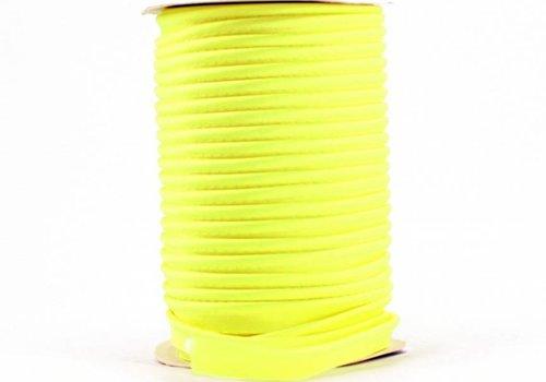 De Stoffenkamer Paspelband fluo geel