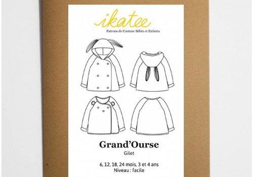 IKATEE GRAND'OURSE cardigan IKATEE