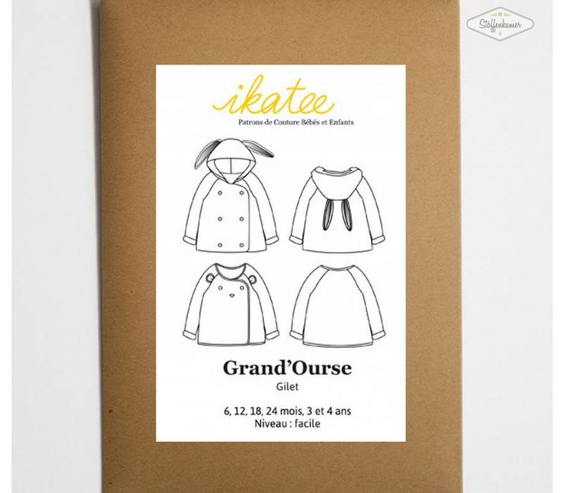 GRAND'OURSE cardigan IKATEE