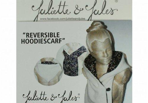 Juliette & Jules Reversible Hoodiescarf