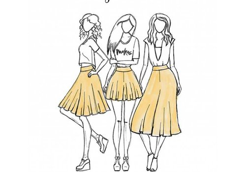 Megan Nielsen Tania Skirt 3IN1