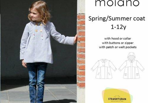 Straightgrain Patterns Moiano Coat Straightgrainpatterns