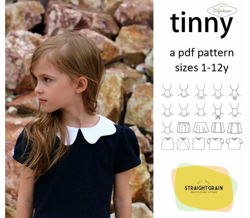 Tinny Dress Straightgrainpatterns