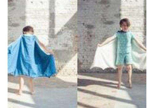 Zonen09 Wolf Patroon Pyjama en cape Zonen 09