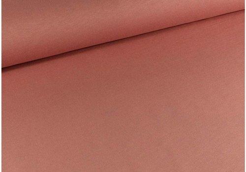 De Stoffenkamer Effen sweaterstof Roze