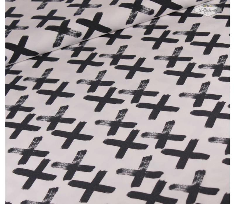 Black X - Elvelyckan Design