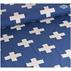 De Stoffenkamer Tricot Blue Cross