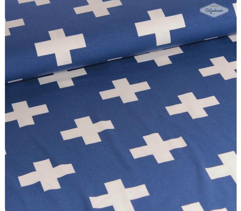 Tricot Blue Cross
