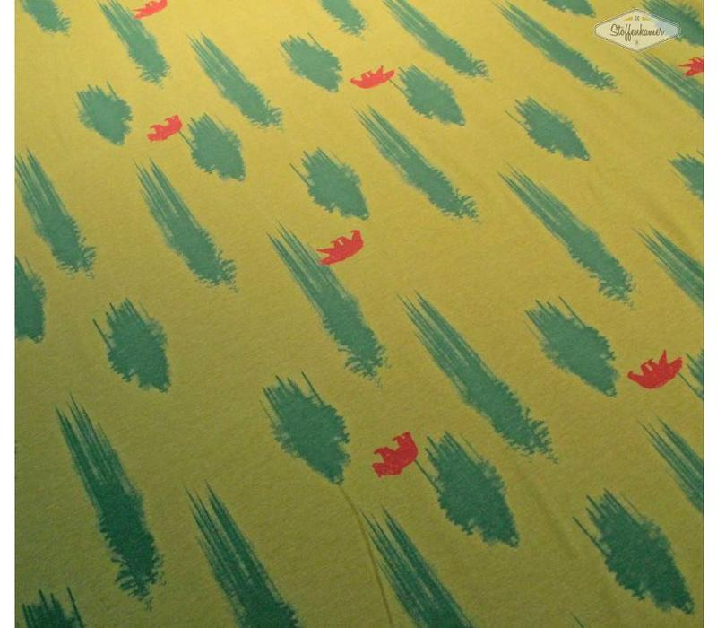 Tricot Bears Green