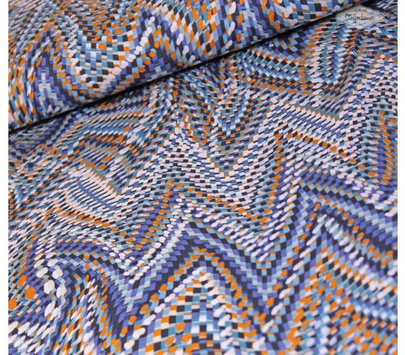 Tricot Abstract multicolor