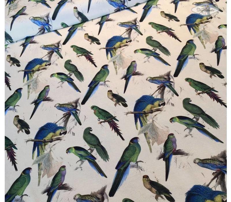 Tricot Parrots multicolor
