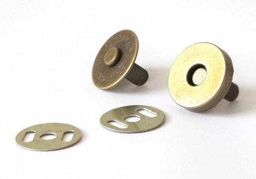 Magneetsluiting Brons