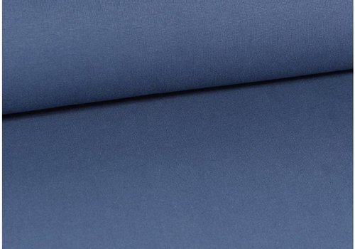 De Stoffenkamer Boordstof Jeansblauw