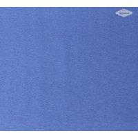 Effen crepe Diephemelsblauw