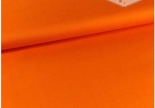 De Stoffenkamer Stretch Denim fel oranje