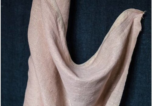 De Stoffenkamer Washed Linen Rose gold