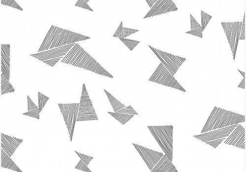 I Got Stripes Origami Black White Tricot - I got stripes