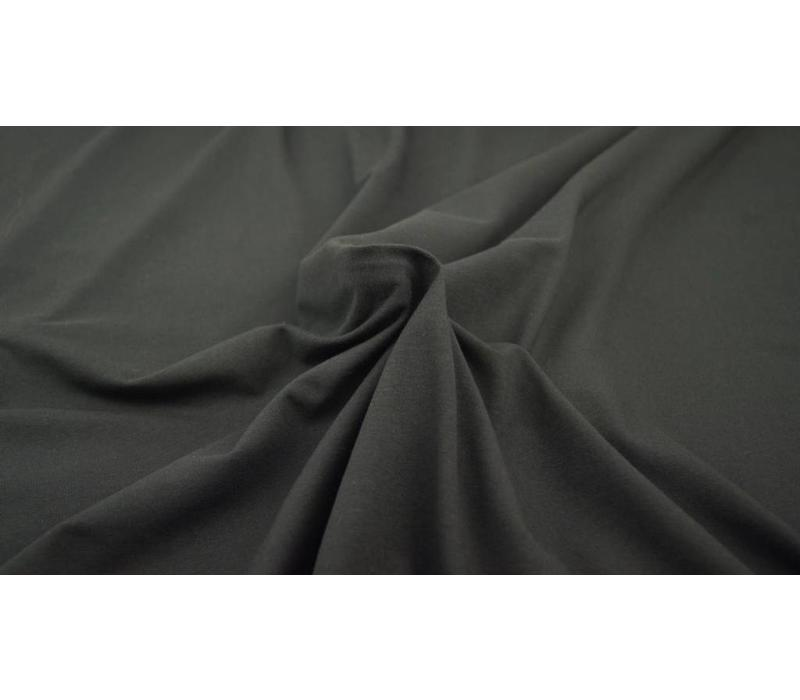 Effen tricot Zwart