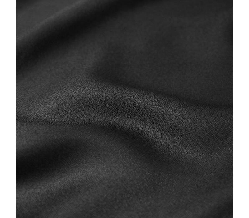 Viscose crêpe black