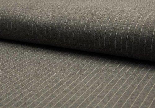 De Stoffenkamer Extra dik tricot grey costume