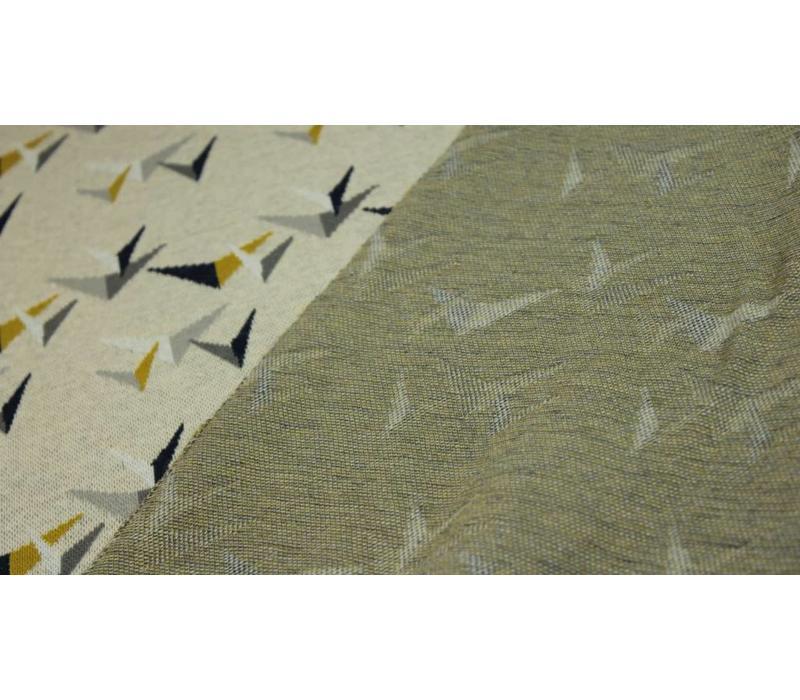 Jacquard tricot Birdie Boom Beige