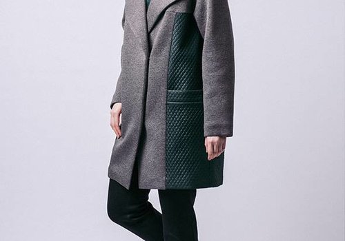 Named Gaia Quilted Coat