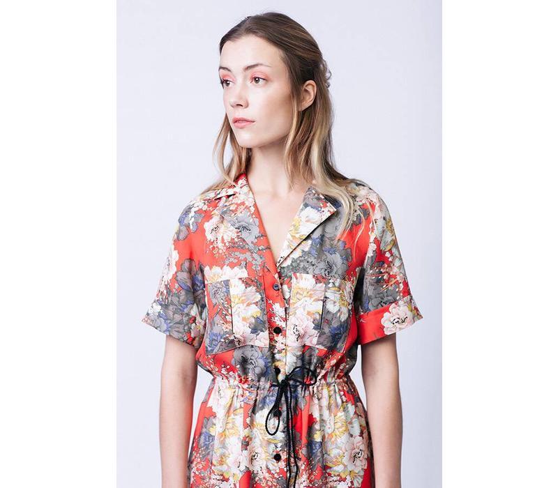 Reeta Midi Shirt Dress