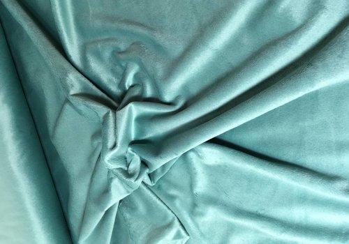 De Stoffenkamer Wellness Fleece grijsgroen
