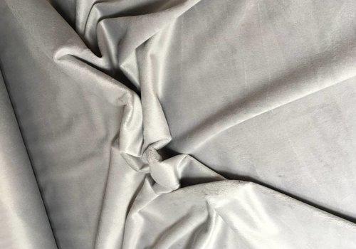 De Stoffenkamer Wellness Fleece lichtgrijs