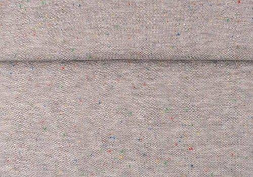 De Stoffenkamer Boordstof multi grey