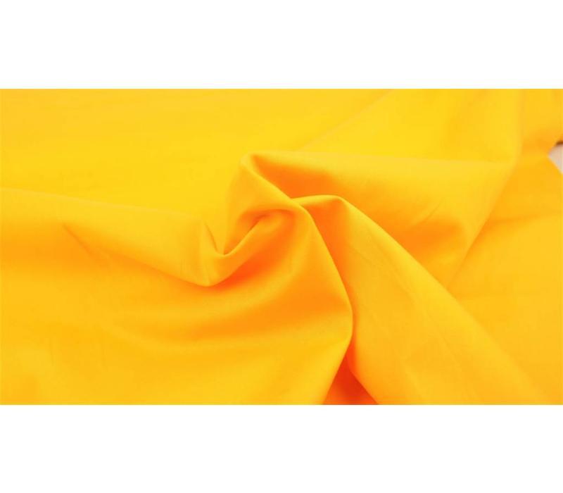 Effen katoen warm geel