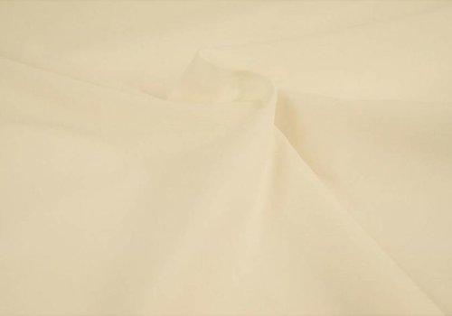 De Stoffenkamer Effen katoen gebroken wit