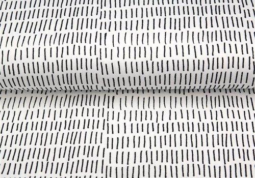 Stenzo BIO Tricot Stenzo stripes black