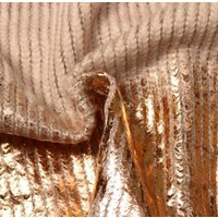 Weave Mohair Pink Gold