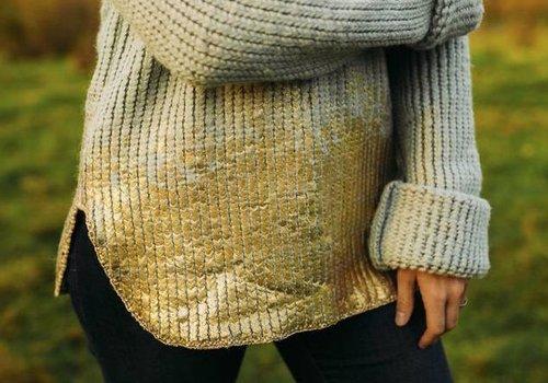 Lotte Martens Weave Mohair Green Gold