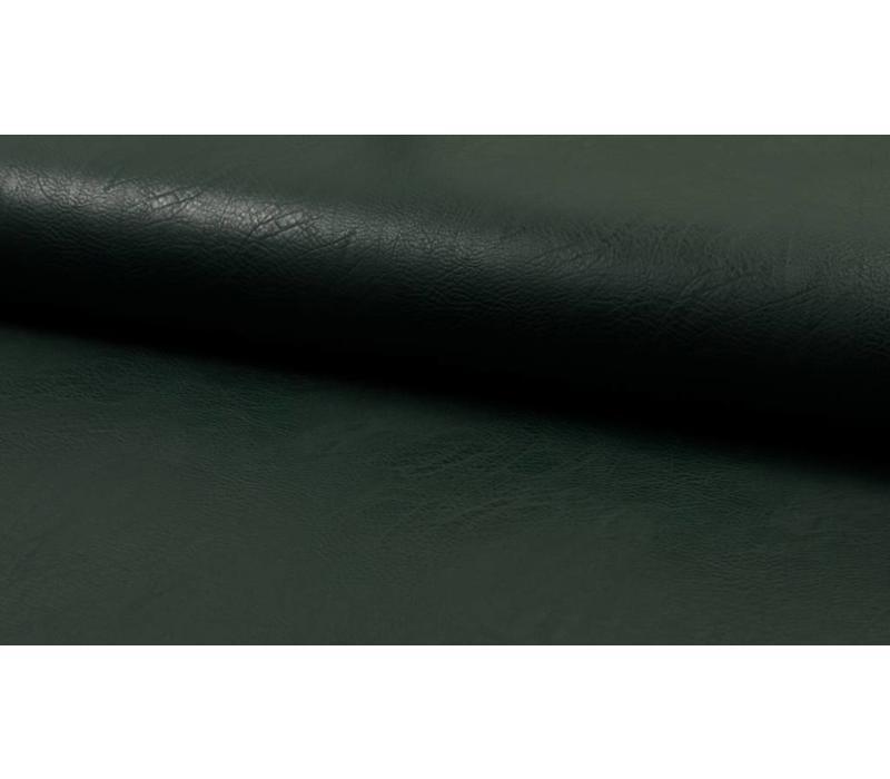 Faux-Leather Bottle Green