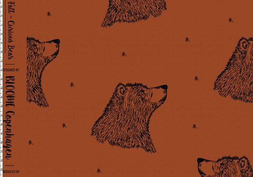Bloome Cph Curious Bear Rust