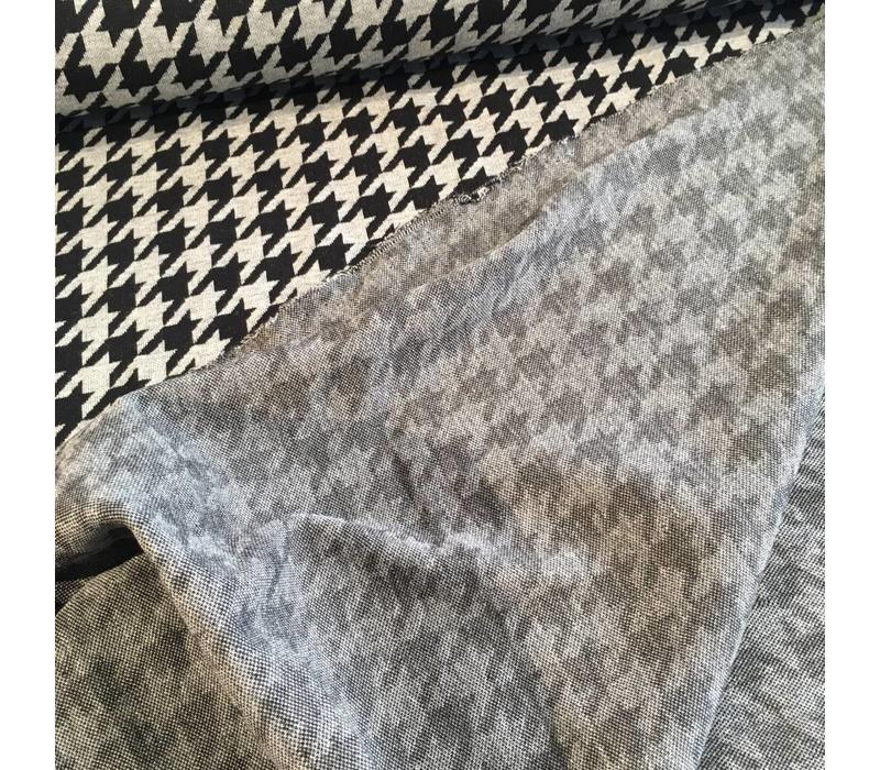 BIO Jacquard Pied de Poule grey