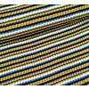 Albstoffe - Hamburgerliebe BIO Jacquard Knitty Stripes Mustardish