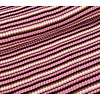 Albstoffe - Hamburgerliebe BIO Jacquard Knitty Stripes Pinkish