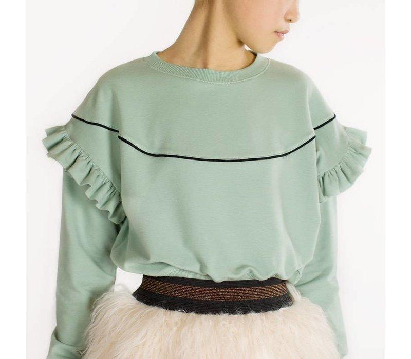 See You At Six Sweater Tracks Jade Green UNI