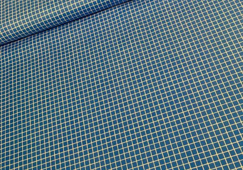Cotton + Steel Cotton Snap To Grid Royal