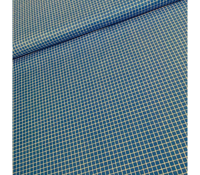 Cotton Snap To Grid Royal