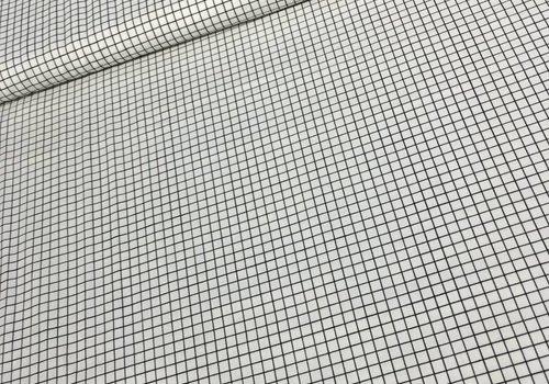Cotton + Steel Cotton Snap To Grid White