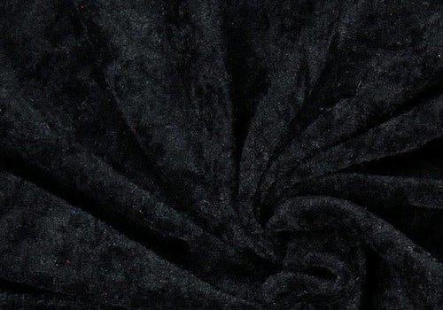 De Stoffenkamer Fluweel Zwart