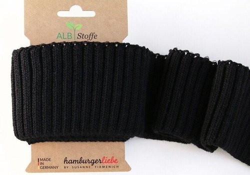 Albstoffe - Hamburgerliebe Cuff Me Cozy black