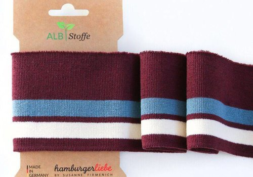 Albstoffe - Hamburgerliebe Cuff Me College COL14